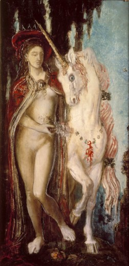 Stock Photo: 1443-1086 The Unicorn