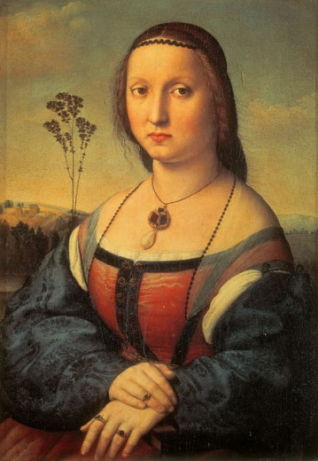 Stock Photo: 1443-1100 Maddalena Doni 