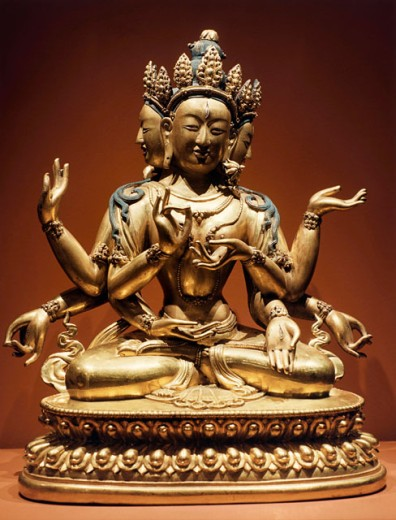 Ushnishavijaya (Buddhist Goddess) 