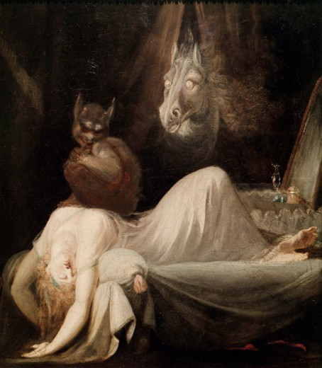 Stock Photo: 1443-1154 The Nightmare 