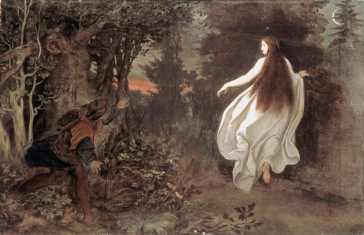 Apparition in the Woods 
