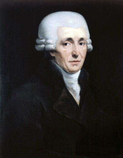 Stock Photo: 1443-137 Joseph Haydn