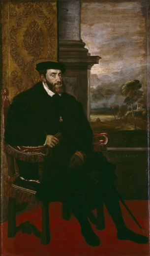 Stock Photo: 1443-163 Charles V