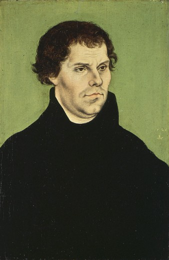 Stock Photo: 1443-180 Martin Luther 