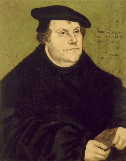Portrait of Martin Luther as Reformer