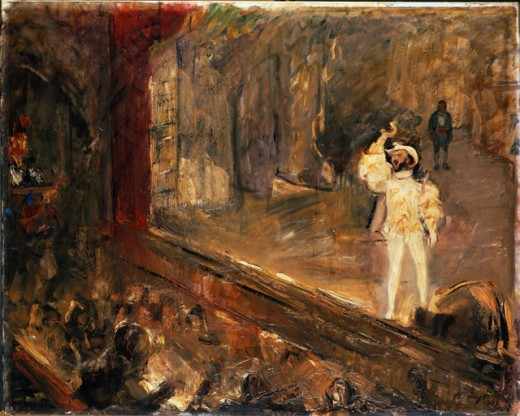 The Champagne Aria--The Singer Francisco d'Andrade as Don Giovanni  