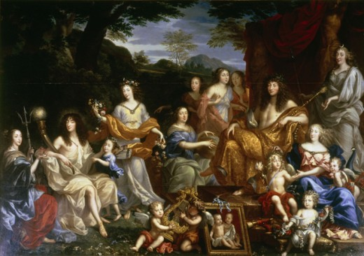 Louis XIV & Family 