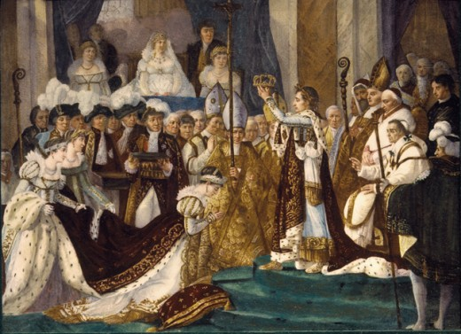 Stock Photo: 1443-308 Coronation of Napoleon 