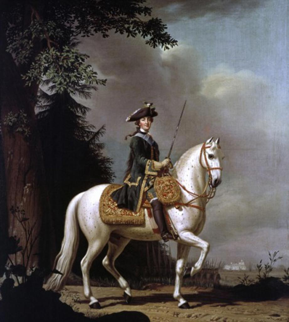 Katharina Die Große Pferd Gestell