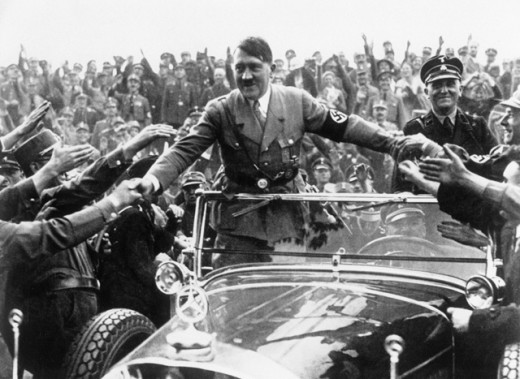 Stock Photo: 1443-608 Adolf Hitler, Nuremberg Rally, Nuremberg, Germany, September 1933