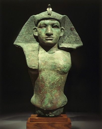Stock Photo: 1443-807 Amenemhet III, Egyptian Pharaoh (1843-1798 BCE)