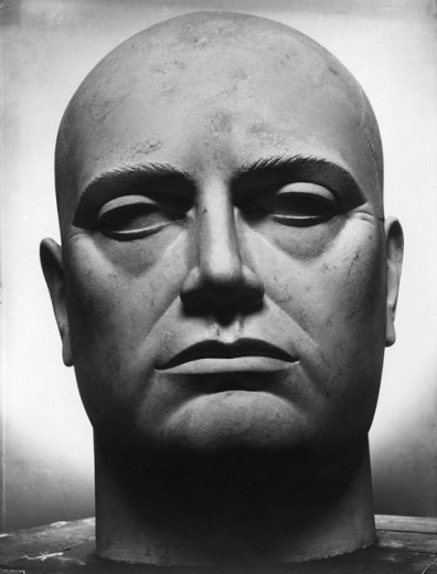 Stock Photo: 1443-819 Benito Mussolini (1883-1945), Italian Dictator & Fascist Leader 