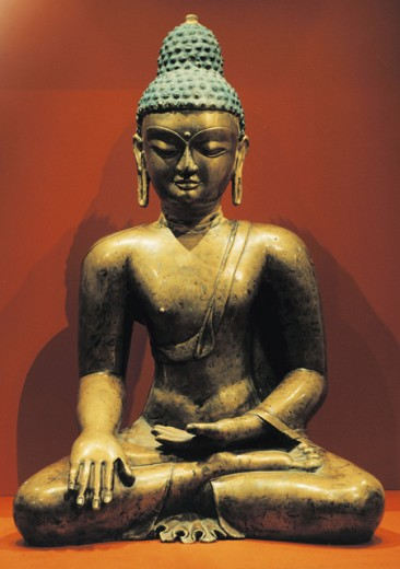 Stock Photo: 1443-856 Buddha Shakyamuni, Tibet
