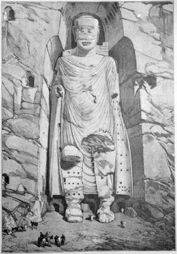 Colossal Buddha at Bamiyan, Afghanistan 