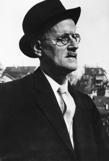 Stock Photo: 1443-914 James Joyce