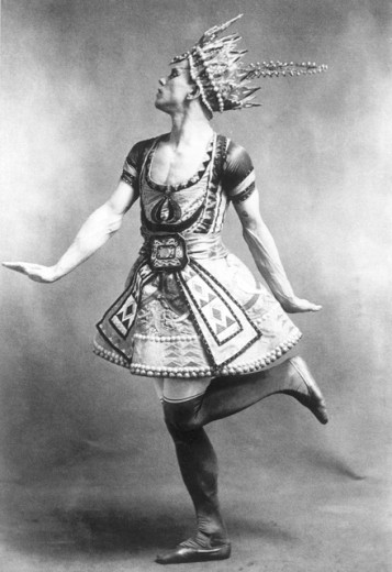 Stock Photo: 1443-915 Vaslav Nijinsky