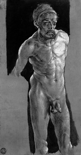 Nude Study (Self Portrait) 