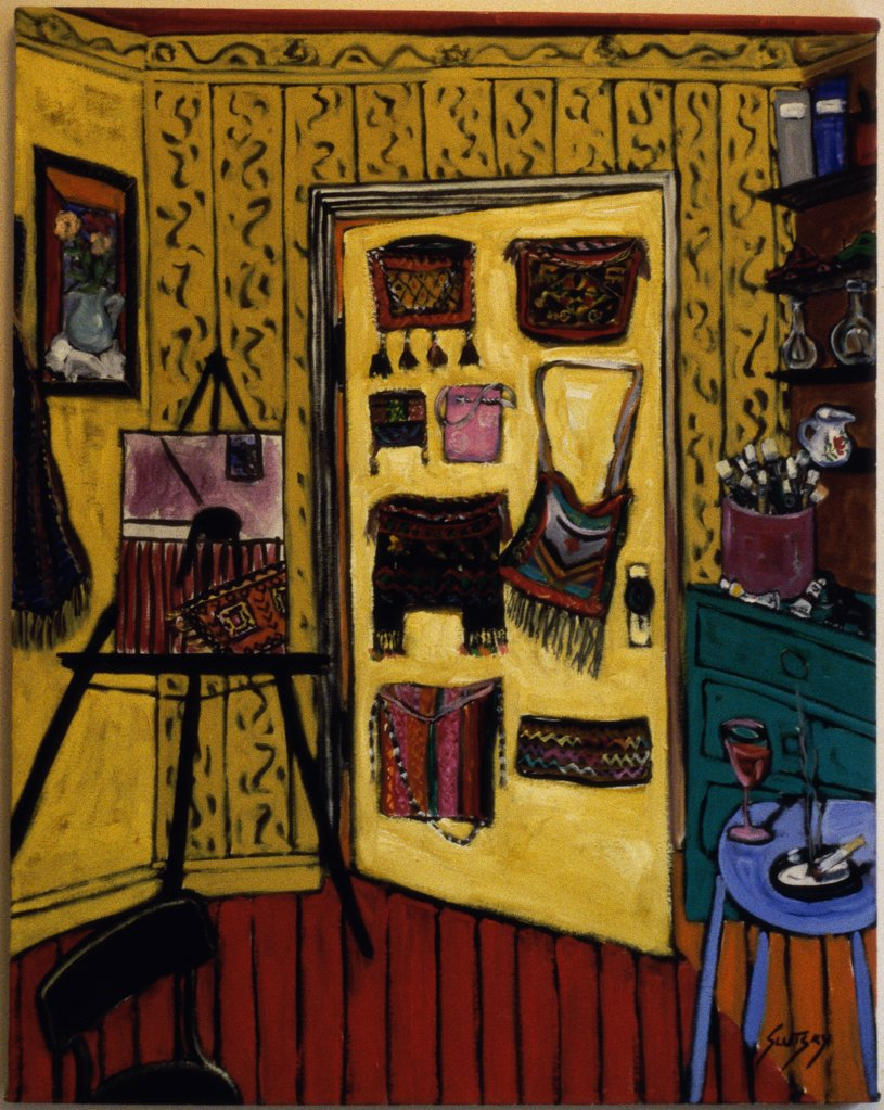 The Studio Door 
