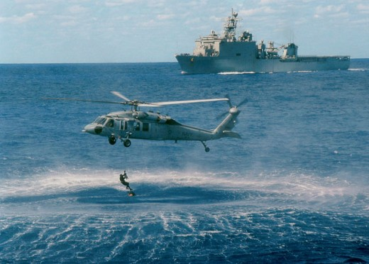 Stock Photo: 1457-632 MH-60S Knight Hawk
