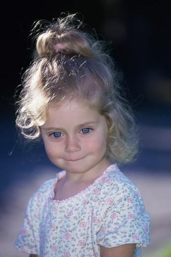 Girl smiling : Stock Photo