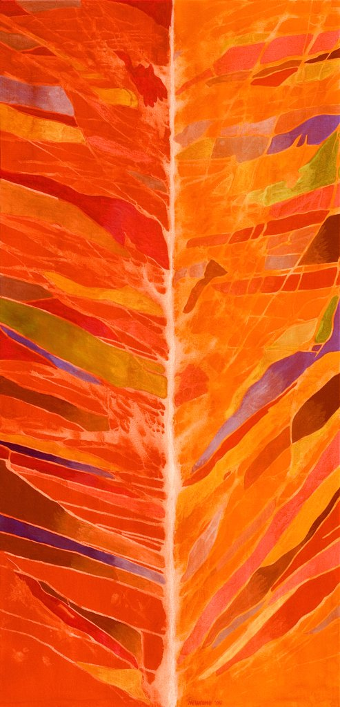 Stock Photo: 1474-397 Connecticut Autumn  John Newcomb, Acrylic, 2009