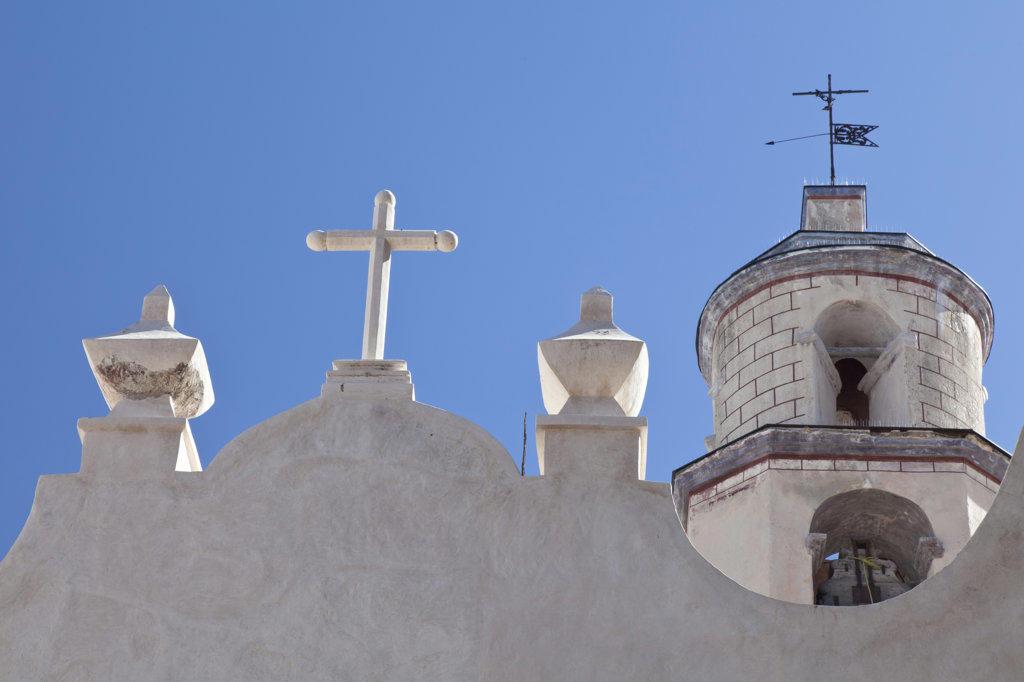Mexico, Guanajuato, Atotonilco, Sanctuary of Jesus Nazarene exterior : Stock Photo