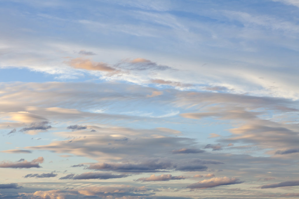 Stock Photo: 1482R-3044 Cloudscape