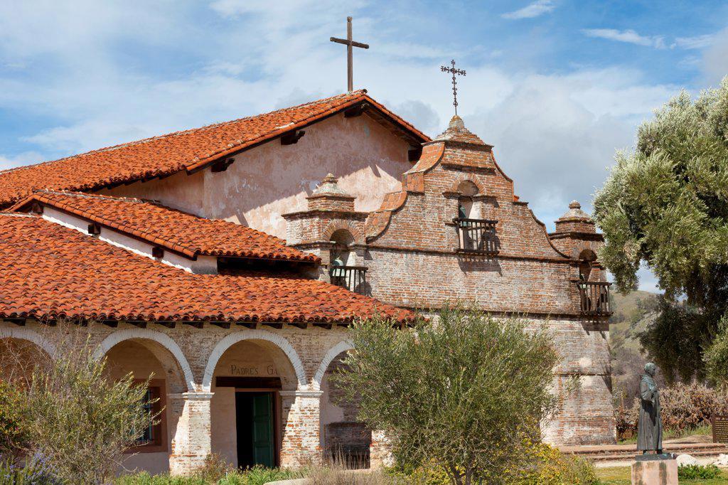 USA, California, Mission San Antonio de Padua : Stock Photo