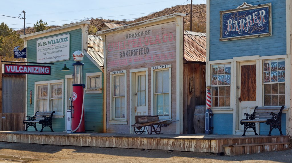 USA, California, Randsburg : Stock Photo