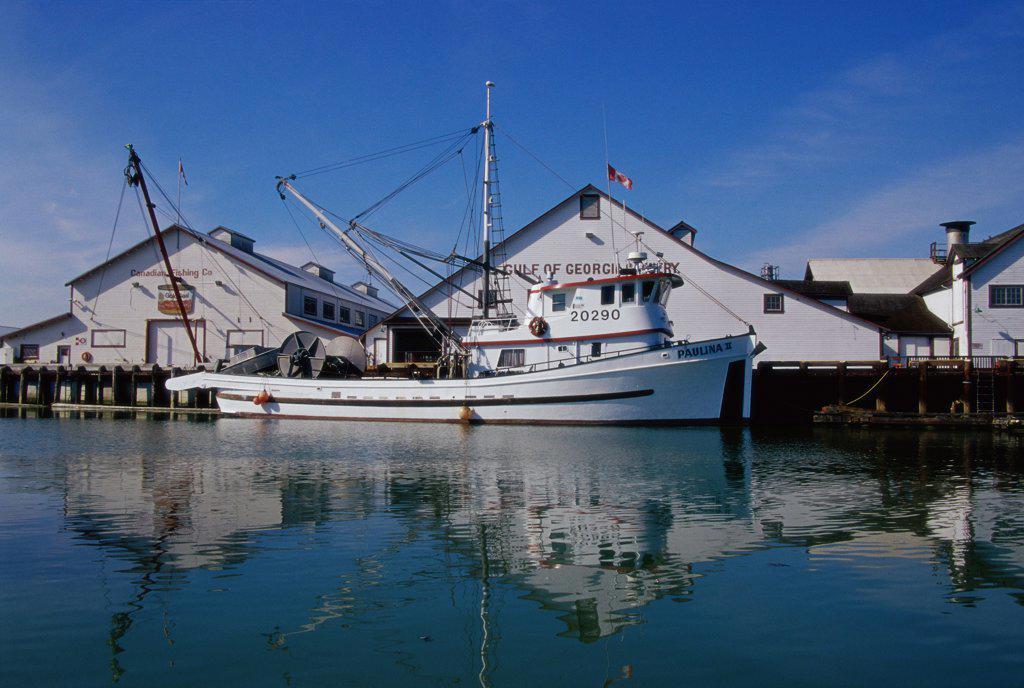 Stock Photo: 1486-10212 Gulf of Georgia Cannery National  Historic Site Steveston, British Columbia, Canada