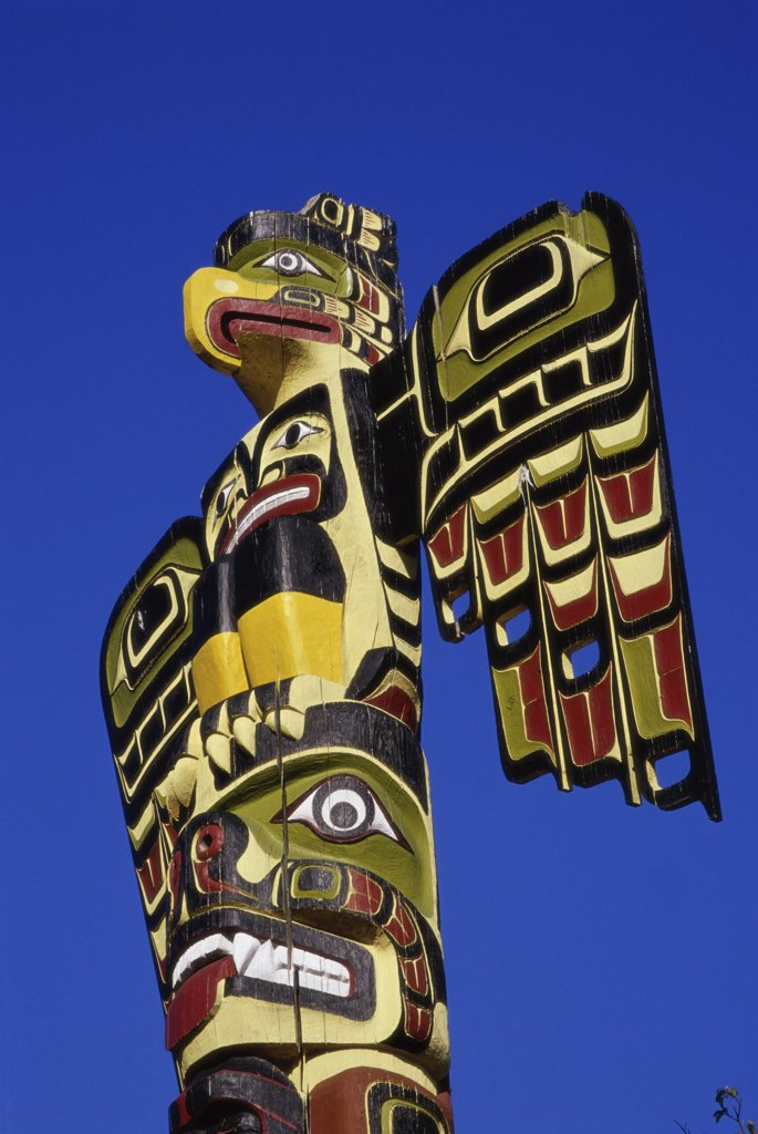 Stock Photo: 1486-10218 Totem Pole