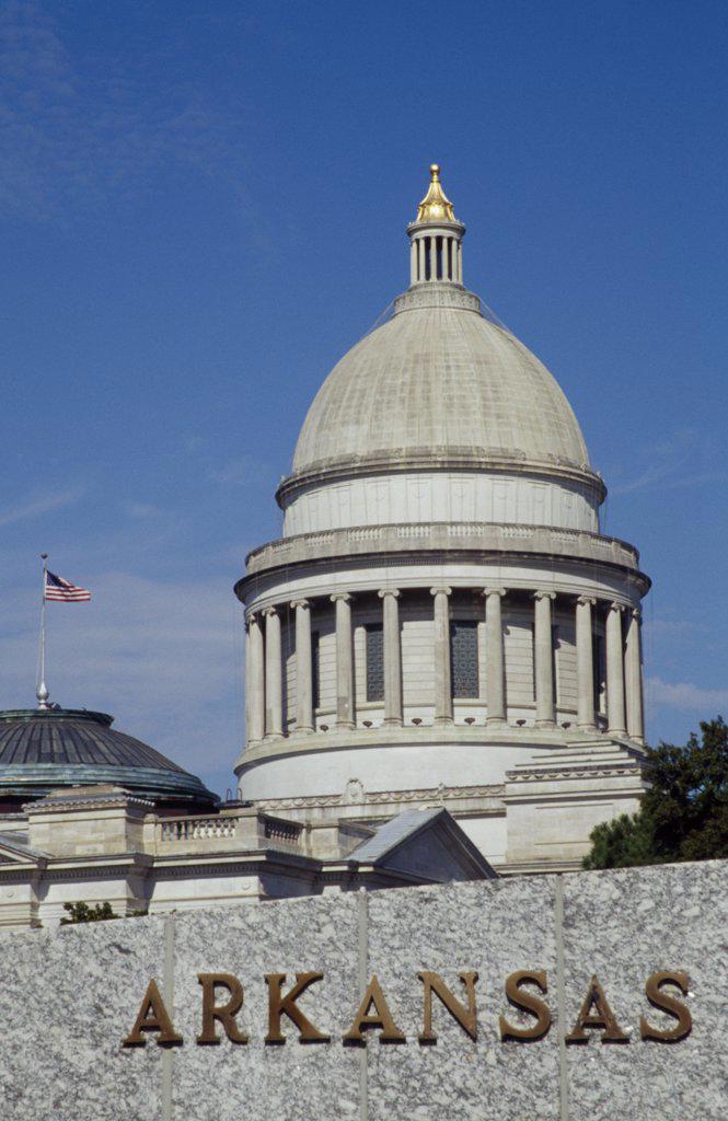 State Capitol Little Rock Arkansas, USA : Stock Photo
