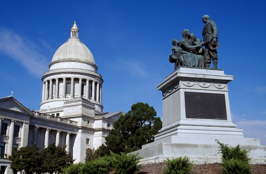 Stock Photo: 1486-10517 Confederate Woman's Monument