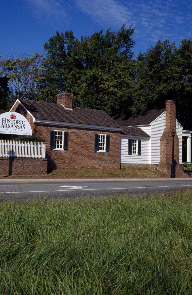 Stock Photo: 1486-10526 Historic Arkansas Museum Little Rock Arkansas, USA