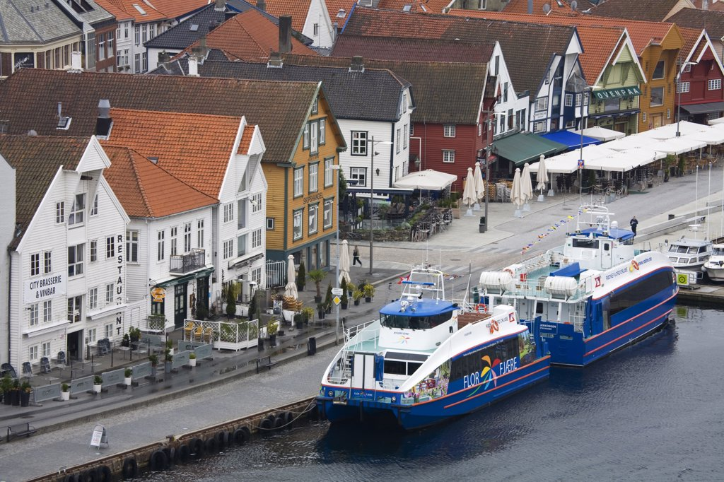 Stock Photo: 1486-11624 Ferry, Stavanger City, Ragoland District, Norway, Scandinavia