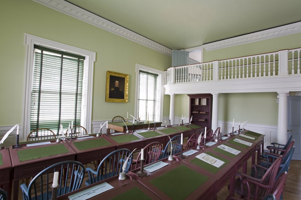 Old State House, Dover City, Delaware State, USA : Stock Photo