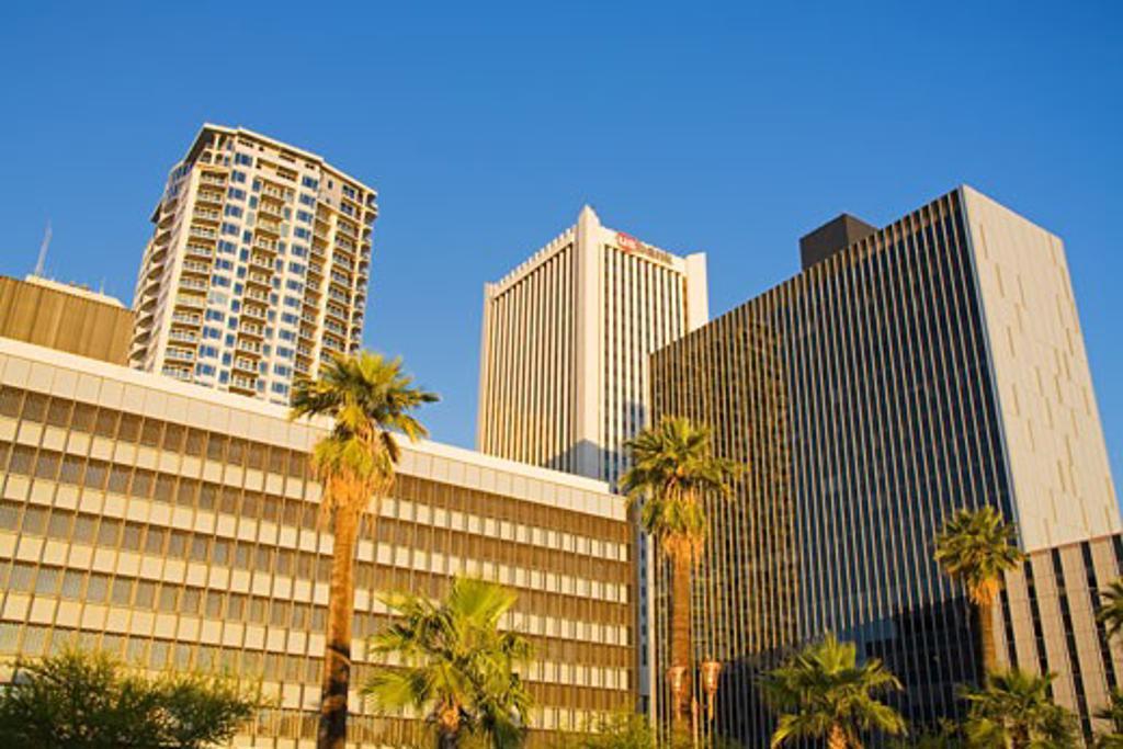 Stock Photo: 1486-12315 Downtown Phoenix, Arizona, USA