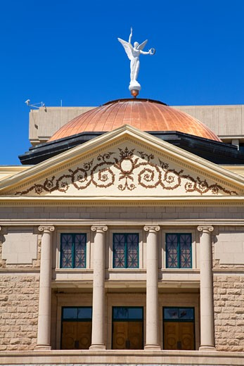 Low angle view of a museum, State Capitol Museum, Phoenix, Arizona, USA : Stock Photo