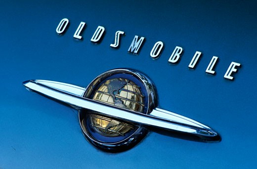 1950 Oldsmobile Coupe : Stock Photo