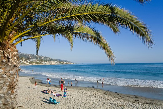 USA, California, Orange County, Laguna Beach : Stock Photo