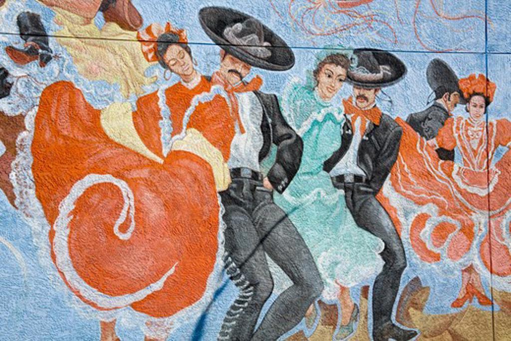 USA, Texas, El Paso, Chimazal National Memorial : Stock Photo