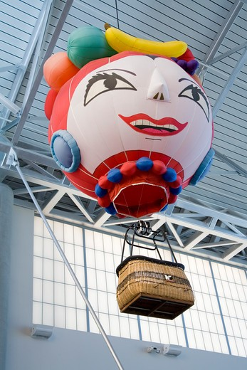 Stock Photo: 1486-14575 USA, New Mexico, Albuquerque, International Balloon Museum