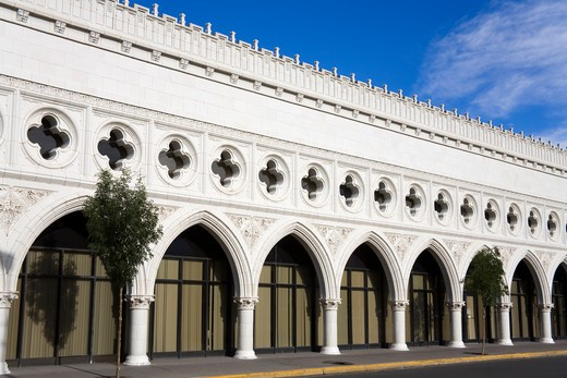 Stock Photo: 1486-14637 USA,New Mexico, Albuquerque, Occidental Life Building