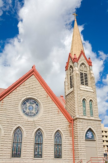 Stock Photo: 1486-14655 USA,New Mexico, Albuquerque, First Methodist Episcopal Church