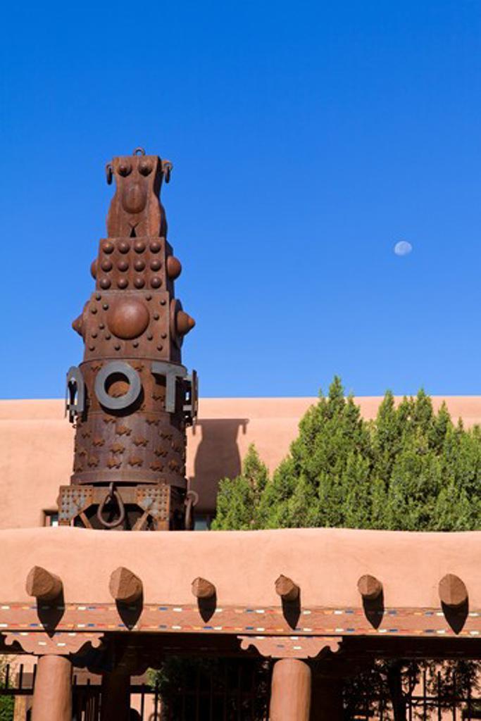 Stock Photo: 1486-14683 USA, New Mexico, Santa Fe, Museum of Contemporary Native Arts