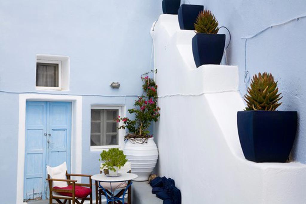 Stock Photo: 1486-14910 Oia village, Santorini Island, Greece, Europe