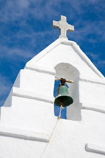 Paraportiani Church in Mykonos Town, Island of Mykonos, Cyclades, Greece, Europe : Stock Photo