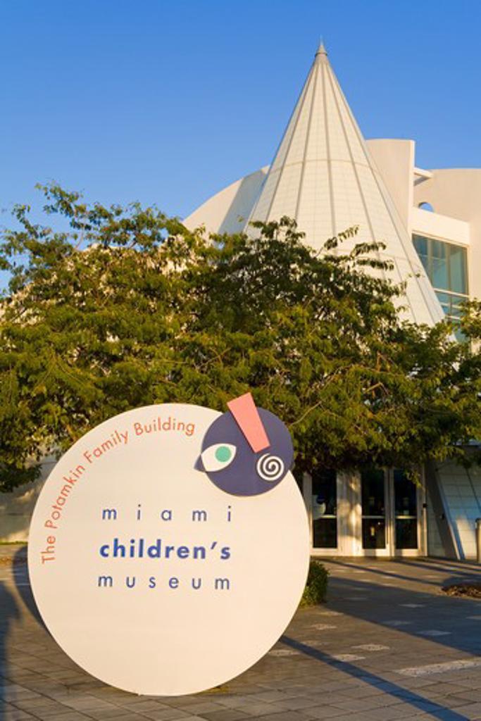 Stock Photo: 1486-15463 Miami Children's Museum, Miami, Florida, USA
