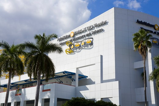 Museum of Discovery & Science, Fort Lauderdale, Broward County, Florida, USA : Stock Photo