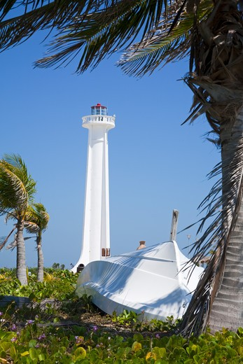 Stock Photo: 1486-15932 Mexico, Quintana Roo, Costa Maya, Mahahaul Lighthouse